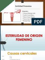Exposición-Infertilidad