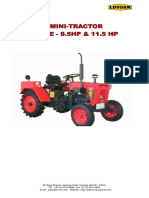 E-CATALOGUE Mini Tractor