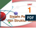 1.Sistem Perioe & Struktur Atom Powerpoint