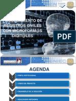 RENIEC -Procesamiento de Registros Civiles Con Microform@s Digitales