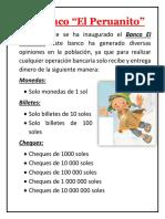 El Banco El Peruanito