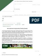 Agricultura Familiar e Cooperativismo
