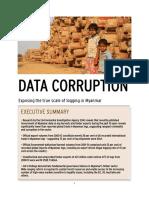 Six billion dollar timber corruption black hole revealed by official data | EIA Data Corruption