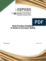 Best Practice Guideline Conveyor Safety