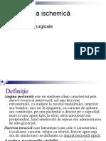 1. Cardiopatie Ischemica. Angina Pectora