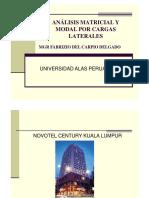 ANÁLISIS MATRICIAL Y MODAL POR CARGAS LATERALES.pptx