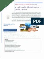 Afiche Diplomado en Derecho Administrativo (1)