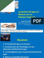 La gestión del agua Enfoque Integrado.pdf