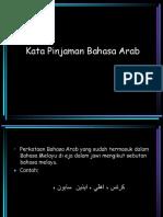 50355093-Kata-Pinjaman-Bahasa-Arab.ppt