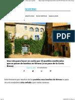 Una Ruta Para Hacer en Coche Por 10 Pueblos Medievales Girona