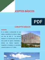 Conceptos Basicos dela Geomorfologia