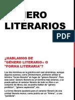 Clase 6 - Genero Literarios