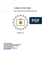 Iron Major Survival Guide