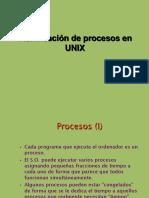 PLANIFICAcion de procesos en unix