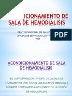 Acondicionamiento de Sala de Hemodialisis