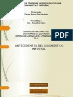 3.1 Diagnóstico Integral