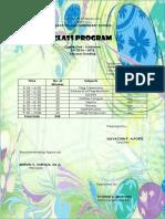 Class Program-2nd Grading