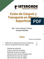 Costo de Carguio y Transporte en Opet Pit