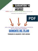 Loteria Máxima - Lotofacil 2019