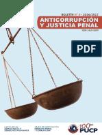 ANTICURRUPCIÓN Y SISTEMA DE JUSCTICIA PENAL - PUCP