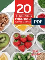 20 Alimentos Poderosos Contra Doença