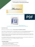 El Procesador de Textos (Microsoft Word) _ Esc. Primari.pdf