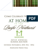 Madeleine Auction Catalog 2010