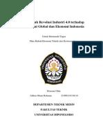 Pengaruh Revolusi Industri 4.0 Terhadap Ekonomi Global Dan Ekonomi Indonesia