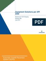 Manual Rosemount Tank Gauging Equipment Solutions Per API 2350 en 81580