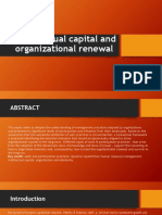 Intellectual Capital and Organizational Renewal- Building Dynamic Capabilities Through People