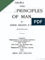 Besant the Seven Principles of Man