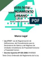 Licenciamiento Urbano Josue Castillo 04.01.2019