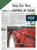 The Daily Tar Heel for November 2, 2010