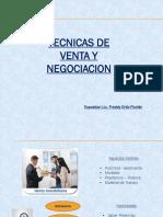 Taller de Tecnicas de Ventas y Negociacion 2018 - Freddy Ortiz