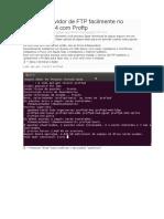 Servidor FTP Ubuntu 14.04