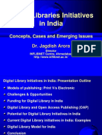 Digital Library initiatives in India