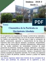 Sesion 1-2018-2 CINEMATICA DE LA PARTICULA U.pdf