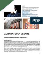 ALIBABA Case English and Indonesia