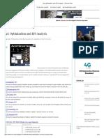 4G Optimization and KPI Analysis - Telecom Hub