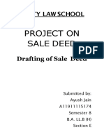 sale deed