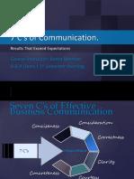 7 C_s of Communication