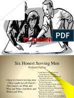 1.Planning & Decision Making
