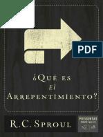 _Que Es El Arrepentimiento_ (Sp - R.C. Sproul