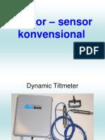 Sensor Konvensional Dan DAU