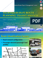 Module 04_PT Route Planning_Transit Services