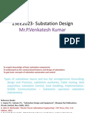 Substation | Electrical Substation | Transformer