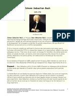 Bach Biographie