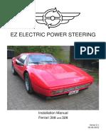 Scheda Montaggio Ferrari 308-328