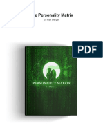 The Personality Matrix eBook