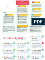 Keto and Fasting Checklist